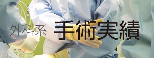 外科系手術実績